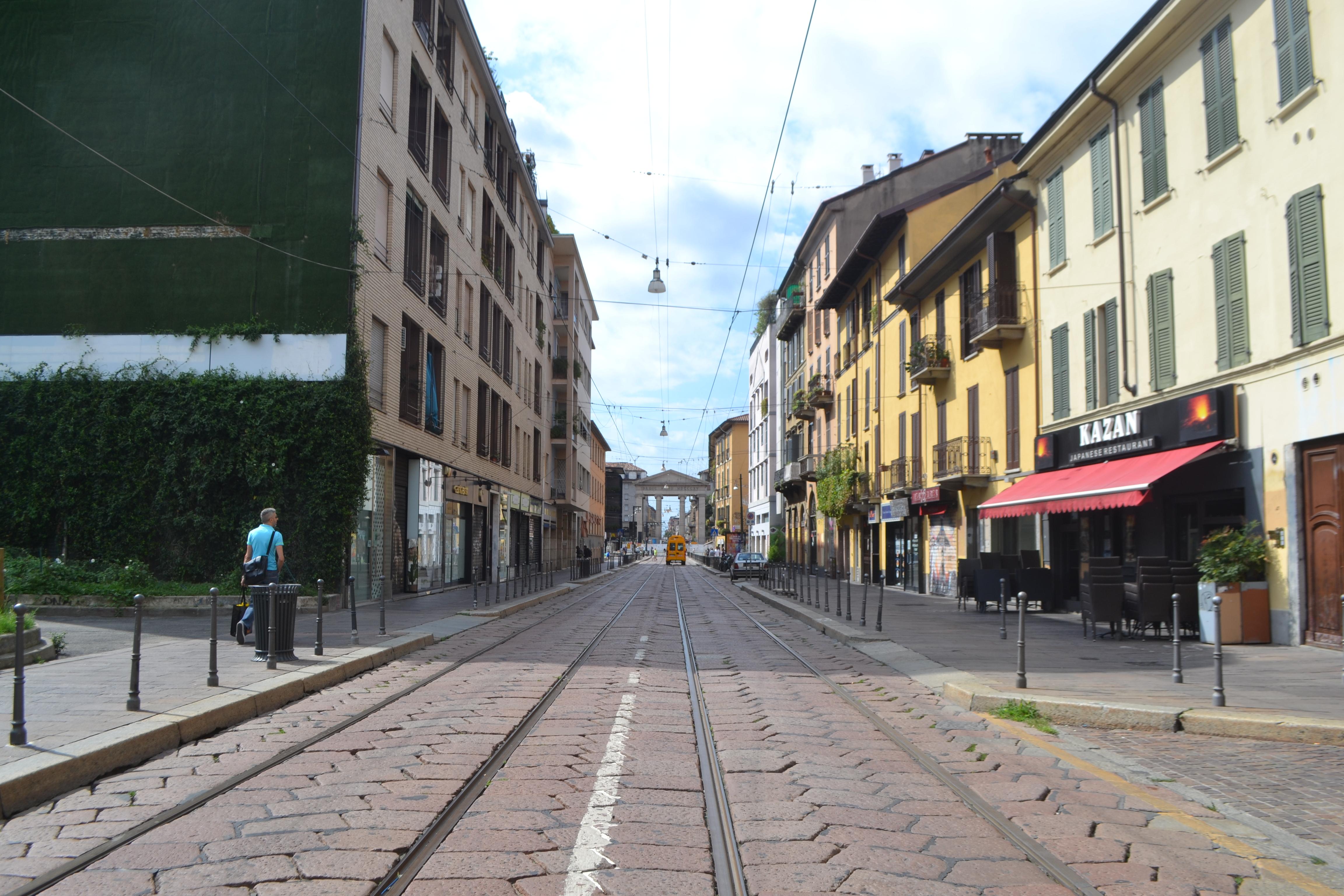 ITALIE - Milan -Rue Porta Ticinese
